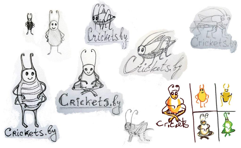 Как мы рисовали персонажа для сверчковой фермы 1