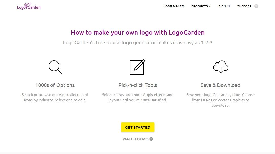 Сервис для создания логотипа
