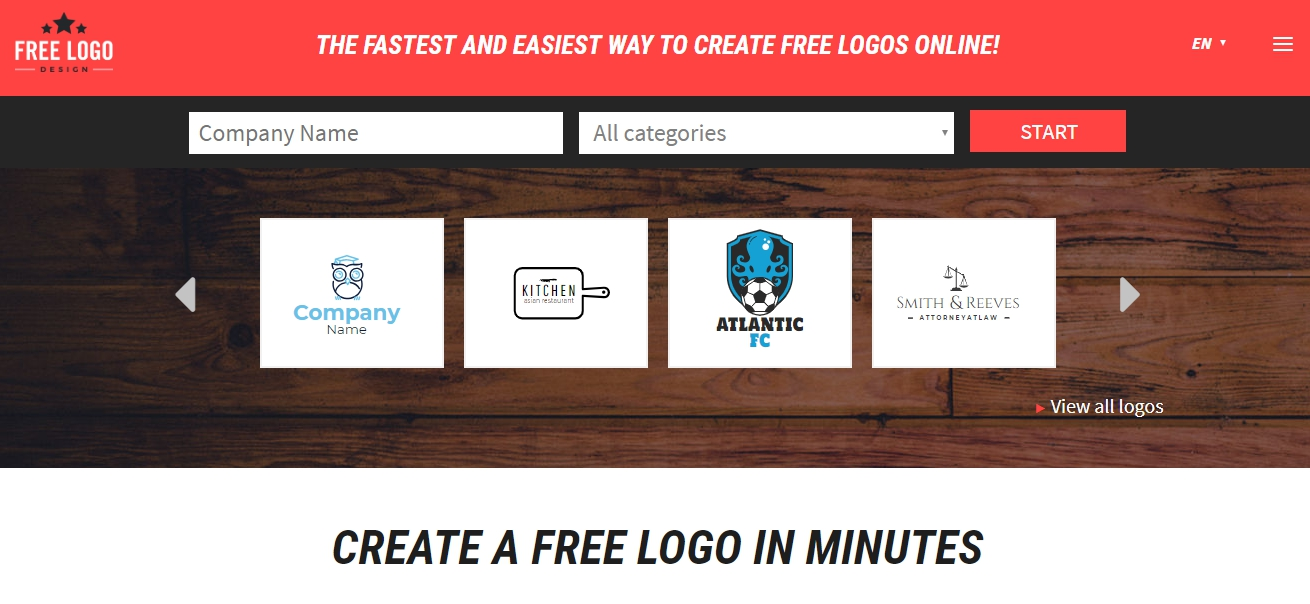 Сервисы для создания лого