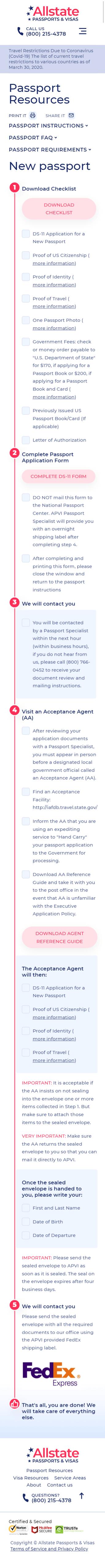 Паспортные Ресурсы