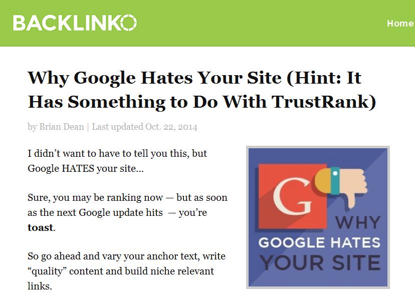 статья о TrustRank