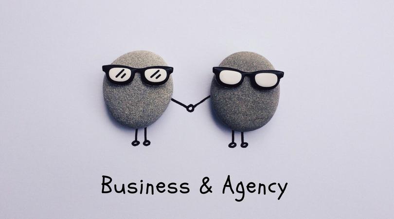Бизнес и рекламное агентство