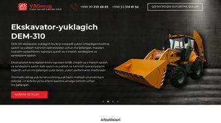 Кейс по разработке лендинга для продажи тракторов